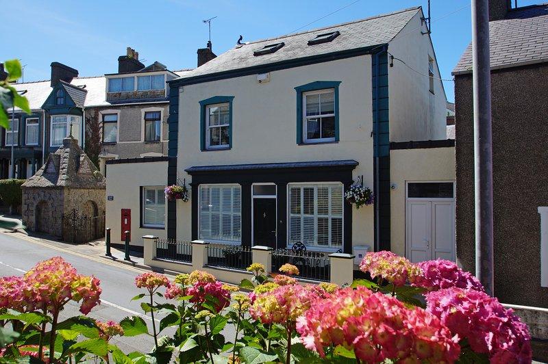 Hermoso alojamiento en la costa para pareja - en Nefyn, Península de Llyn