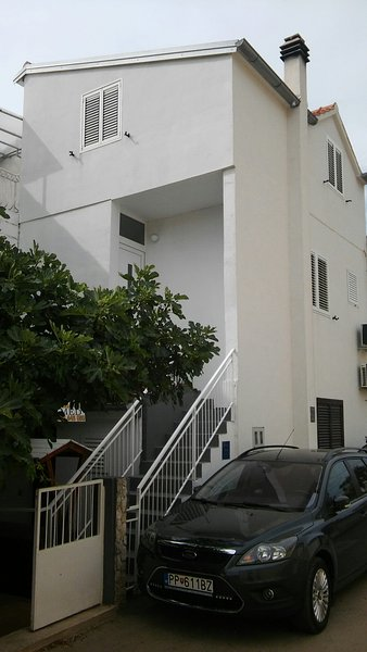 Ons huis, appartement ligt op de eerste verdieping