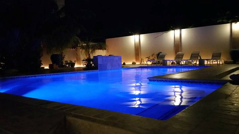 You're just a click away from enjoying your own private pool, waterfall and pool bar.