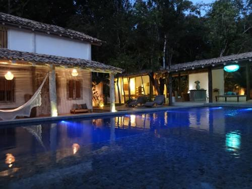 House Perainda at night