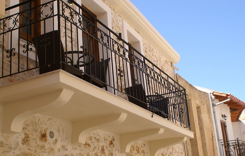 Astraeus apartment balcony