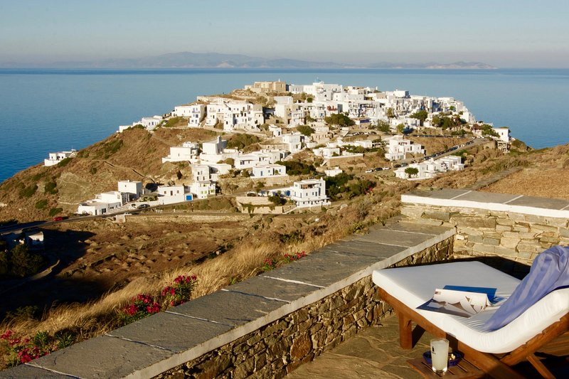 Luxurious Villa on Sifnos, Cyclades, holiday rental in Chrisopigi