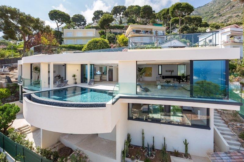 Villa Eze Big Blue, holiday rental in Èze