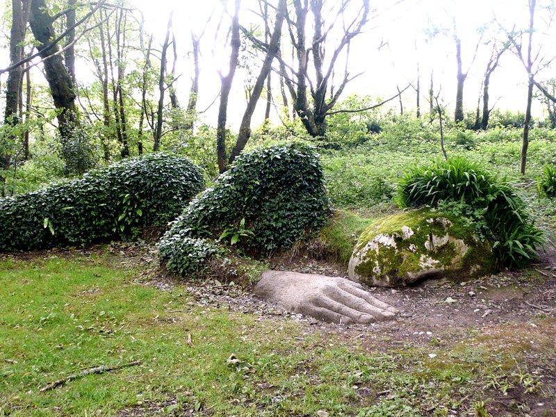Les magnifiques jardins perdus de Heligan, un entraînement de Polperro