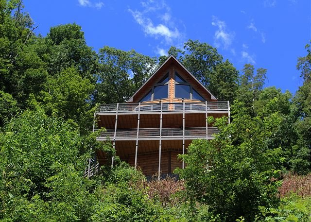 NOW BOOKING - OWLS VIEW- Log Home w/Theater Room, PoolTable, WiFi, FirePit, alquiler vacacional en Todd