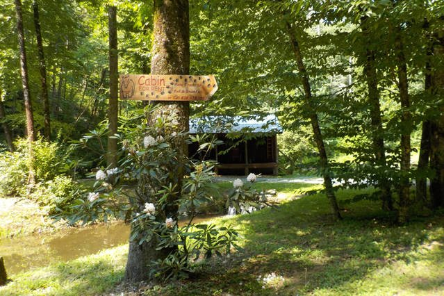 Our cabin is located in the most breathtaking setting in Western North Carolina