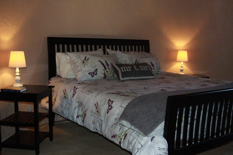 The Rondavel's bedroom