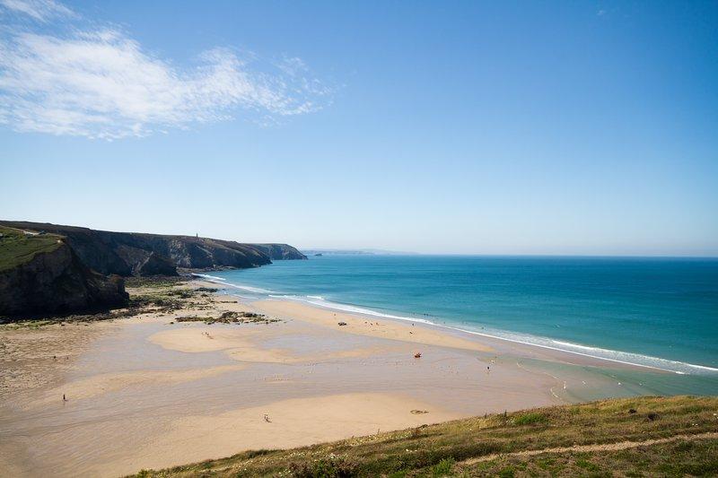 Porthtowan beach on your doorstep