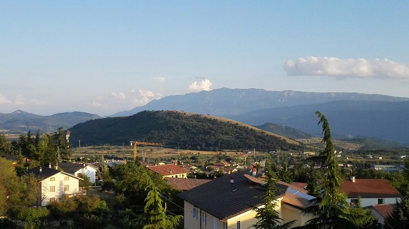 summer landscape - view from bedrooms