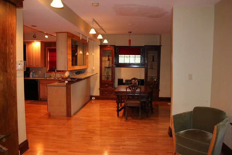Two bedroom suite dining room