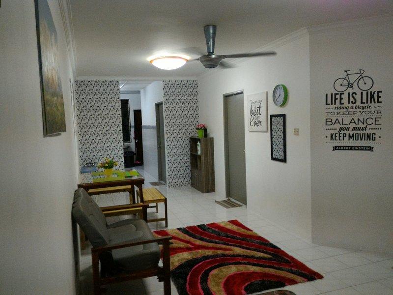 Serapi to Santubong Homestay, holiday rental in Kuching