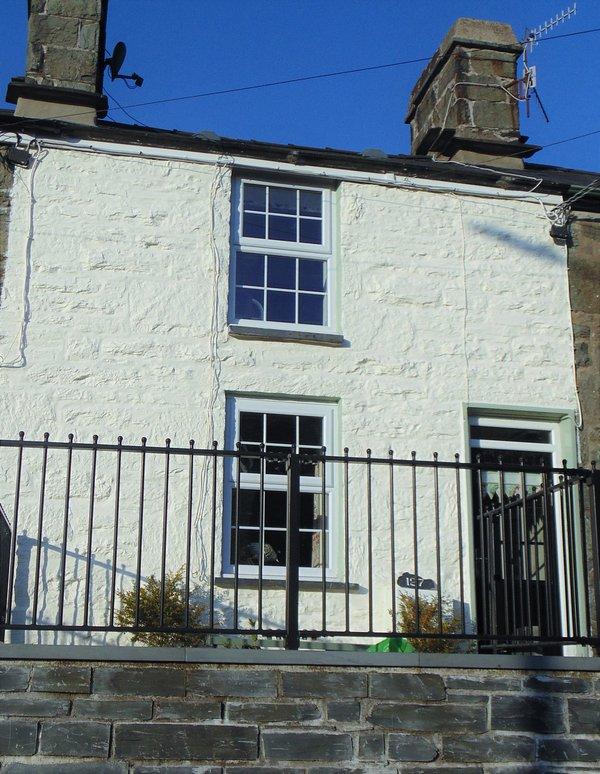 The old quarryman's cottage.