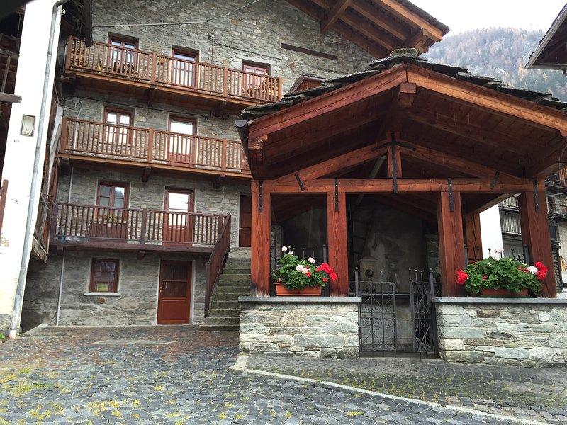 Antico Lavatoio, vacation rental in Rimasco