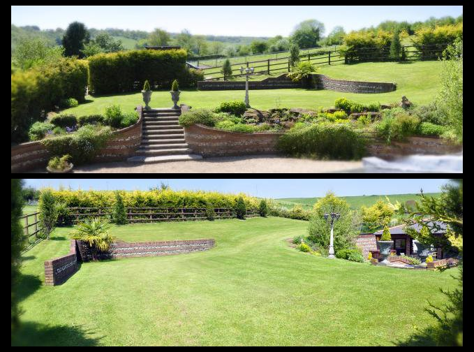 The Top Garden from both angles