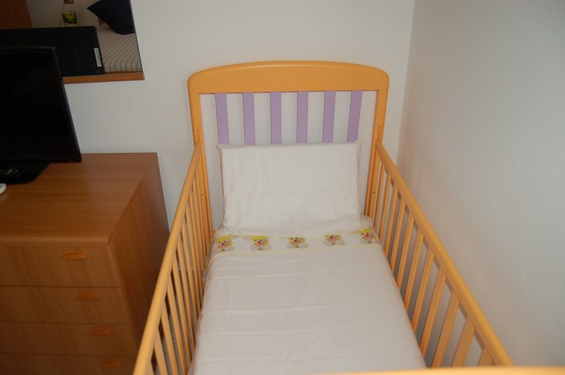 The cradle for infants