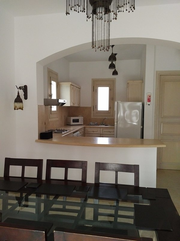Fully equipped kitchen - fridge/freezer/dishwasher/microwave/toaster/coffee maker etc