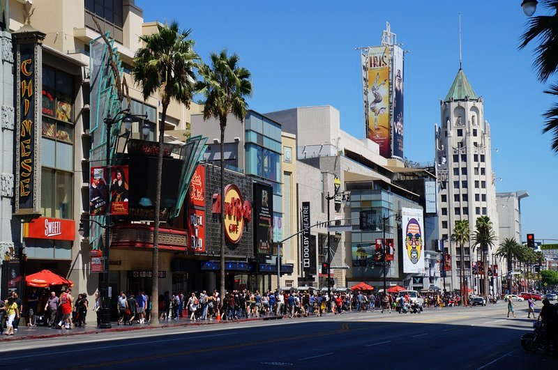 Visit Hollywood Boulevard and see the sights, just minutes away.