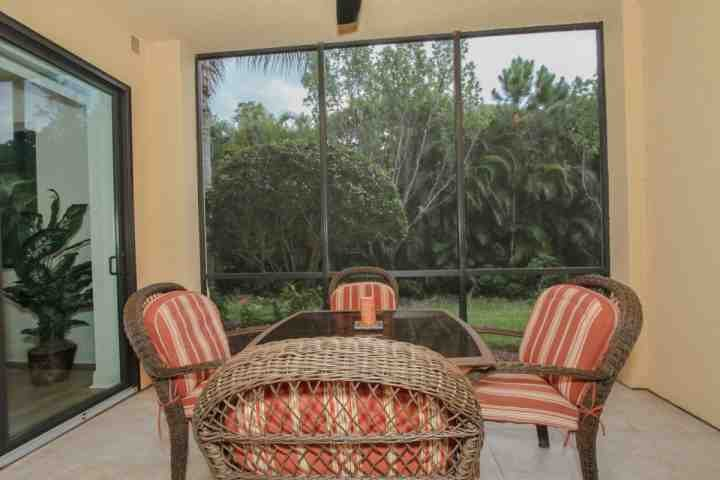 Completely private lush, tropical garden views from your own personal & extremely private screened lanai.