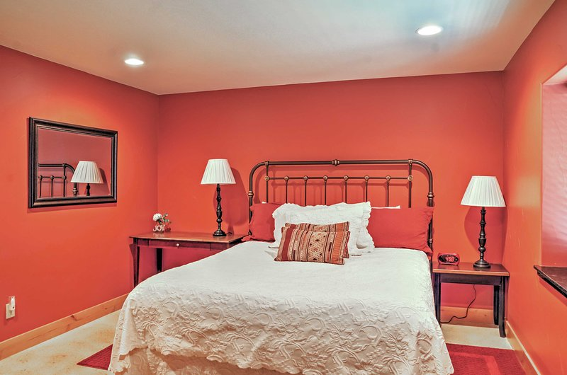 Rest up in this inviting master bedroom.