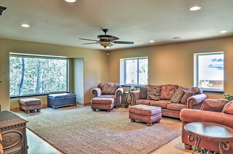 Gather in this spacious room for game nights!