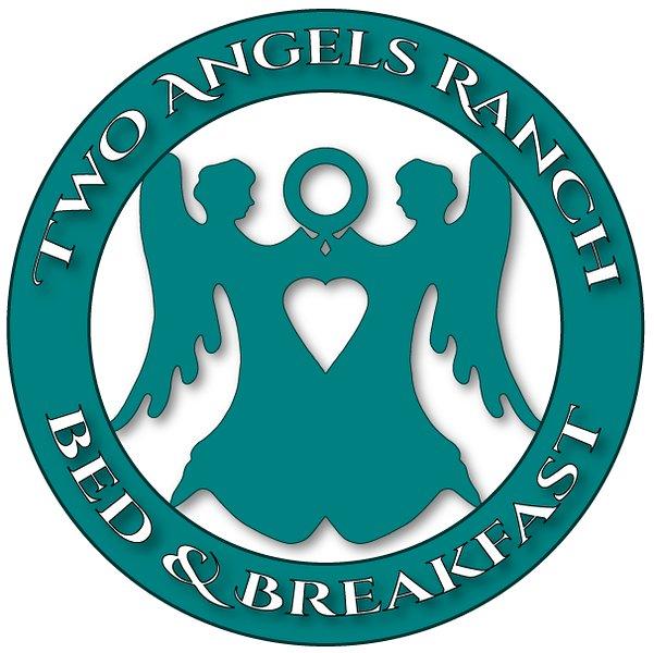 Δύο άγγελοι Ranch Logo