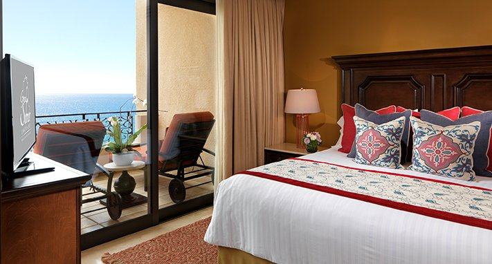 Grand Master Suite Bedroom with Balcony