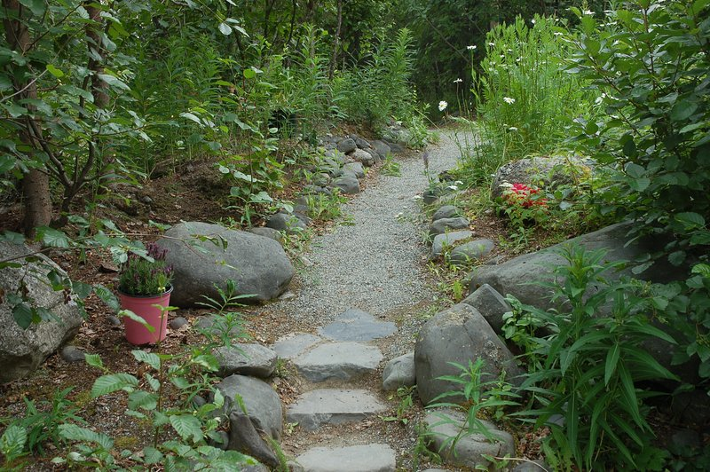 Small Rock and Flower Garden at KRSELC