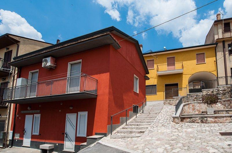 Olimpia Holiday in Irpinia - entrance San Gerardo