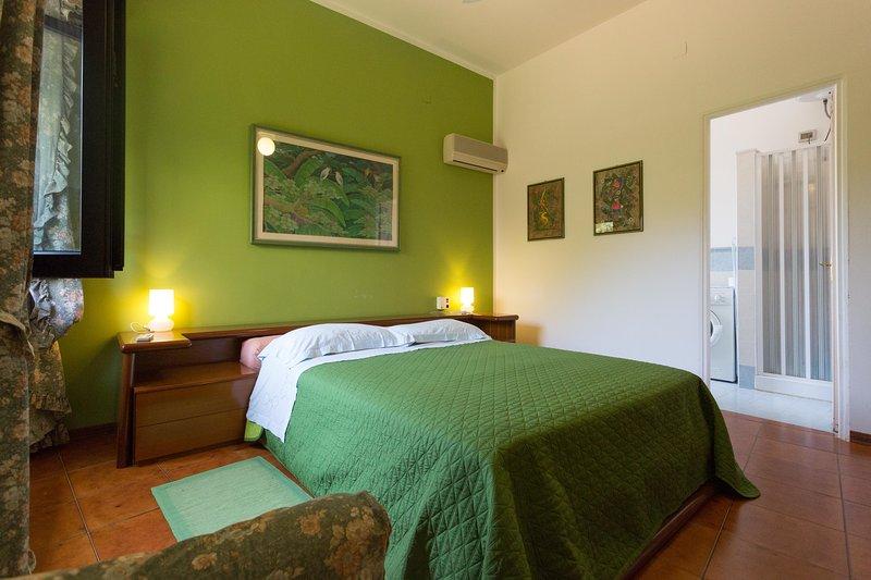 chambre verte avec salle de bain chambre verte avec salle de bain