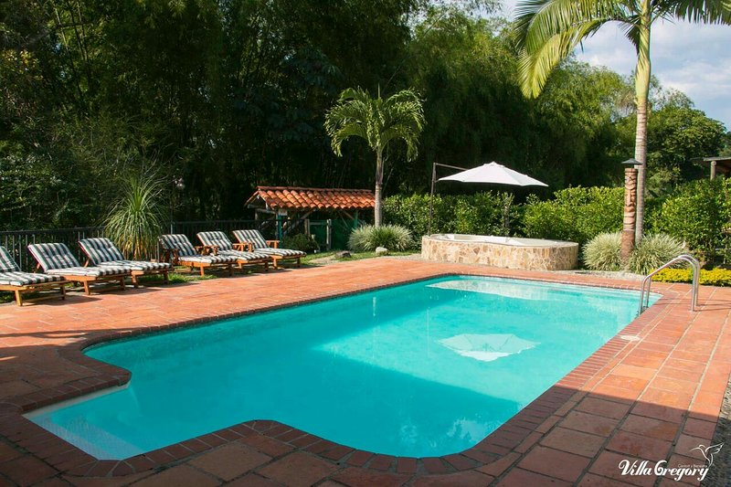 Casa Campestre Villa Gregory Fincas Panaca, holiday rental in Quindio Department