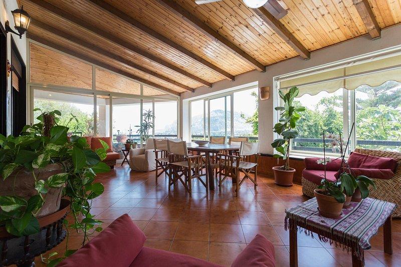Villa Soliva - Panoramica e Vicino al mare, Ferienwohnung in Palermo