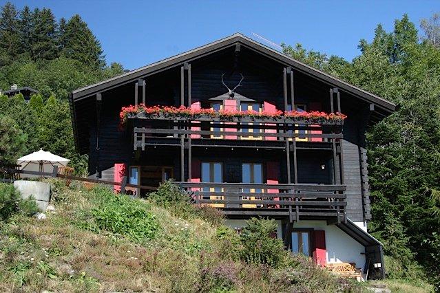 Prachtig gelegen winter en zomer Chalet, 10 pers, alquiler vacacional en Crans-Montana