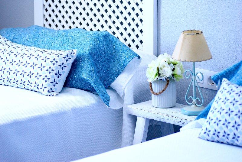 Habitación nº3, dos camas individuales