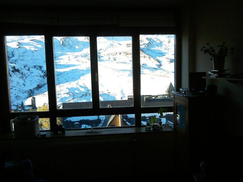 Formigal, apartamento frente a las pistas de esquí, plaza de garaje y trastero, alquiler vacacional en Formigal