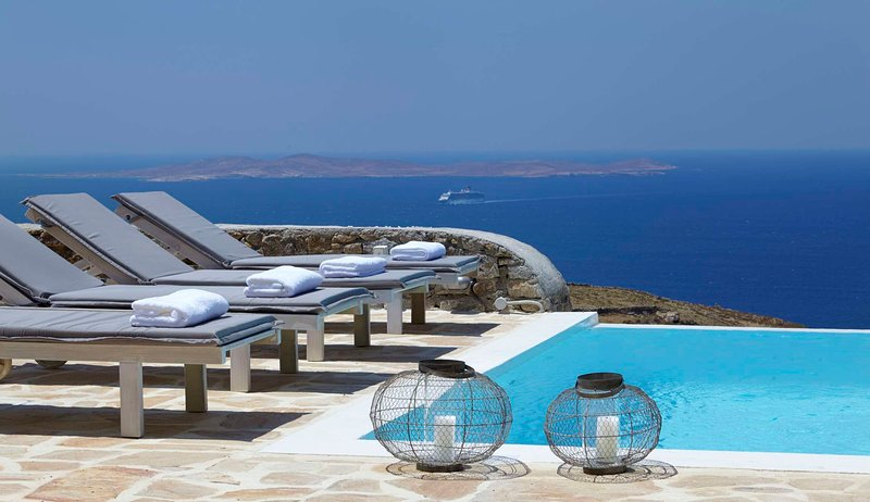 BlueVillas   Villa Crystal Fairy   Private infinity pool close to town & beach, holiday rental in Choulakia