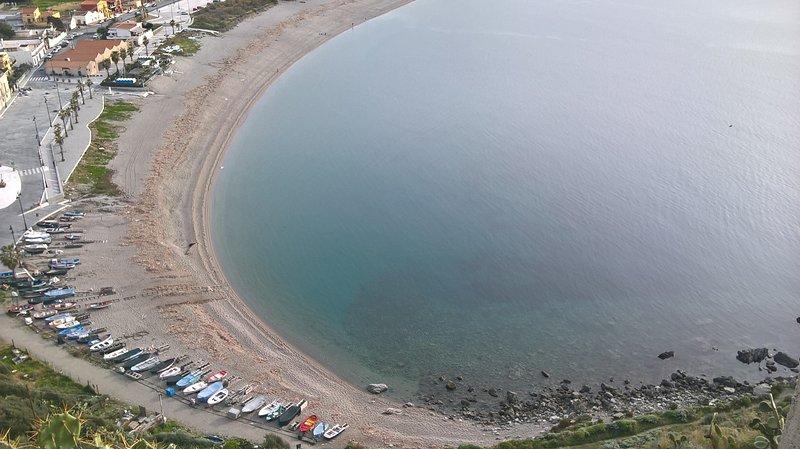 The beach of Angonia