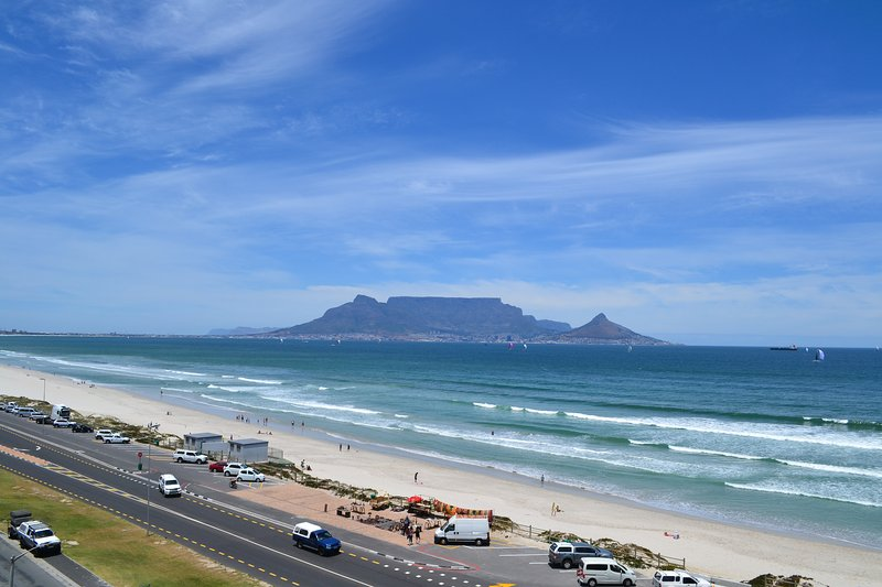 Iconic views of Table Mountain, Blouberg Beach and the Atlantic Ocean.