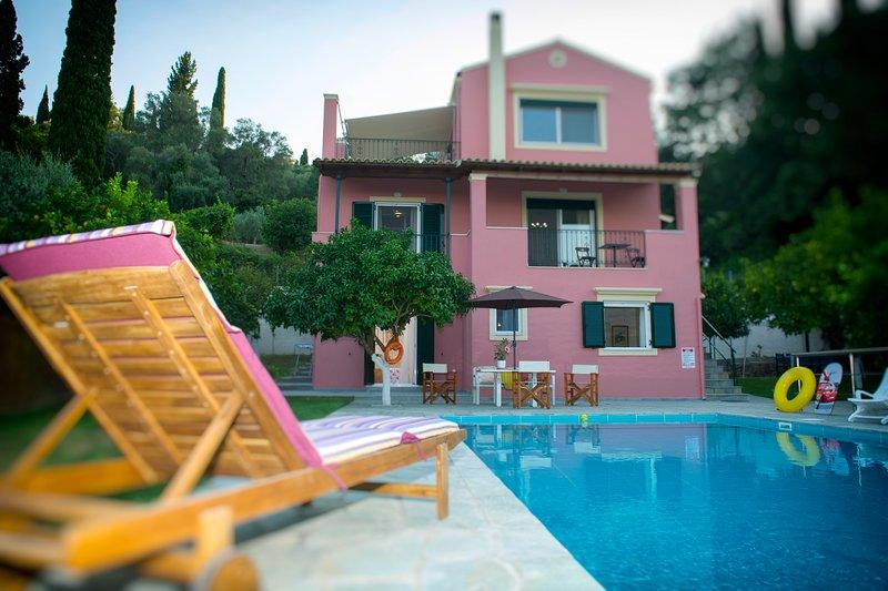 Villa Casa Elisabetta, holiday rental in Kastania