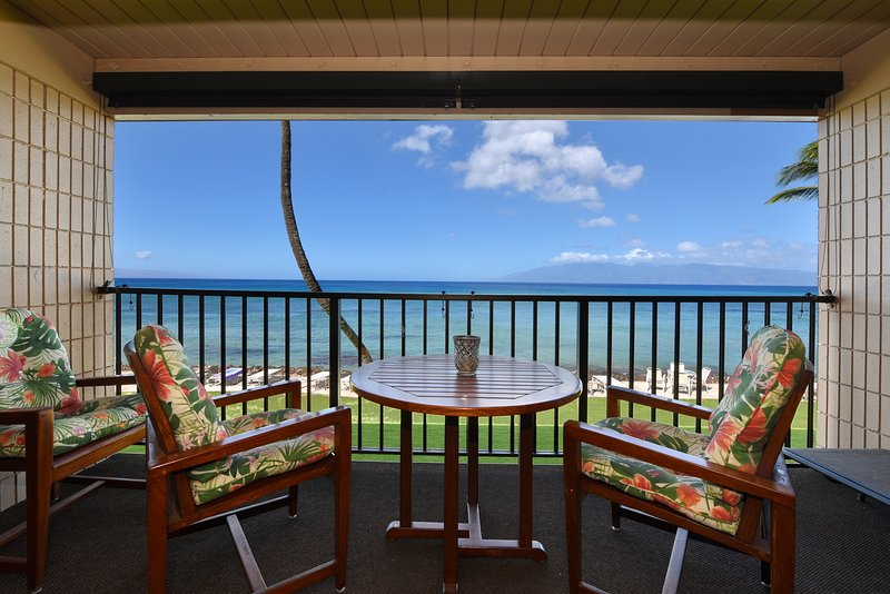 This Lahaina vacation rental condo makes for the perfect getaway in paradise!
