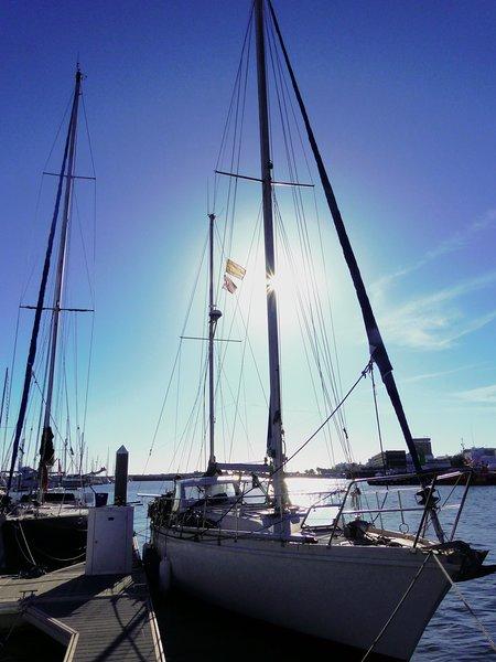 Peter Pan in port.