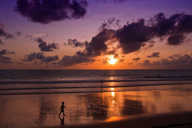Surin Beach Sunset - One of the best on the island and right on your doorstep!