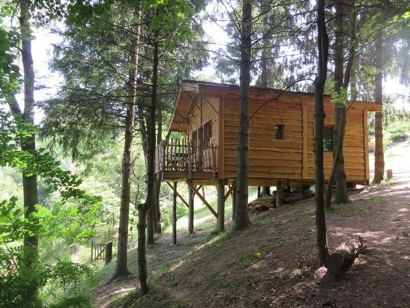 La Cabane aux Sapins à Ratières, holiday rental in Charmes-sur-l'Herbasse