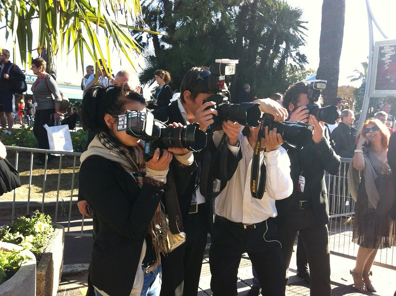 Cannes and its photographers