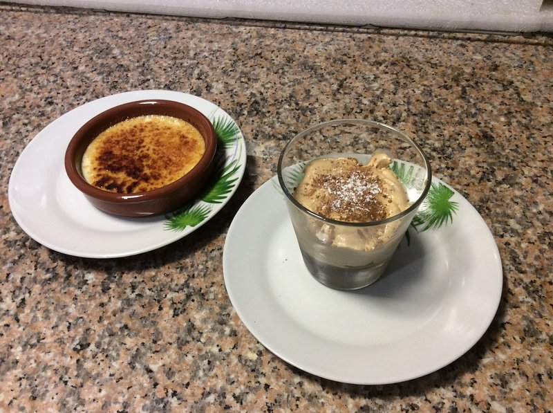 daily dessert: creme brulee house and chestnut foam