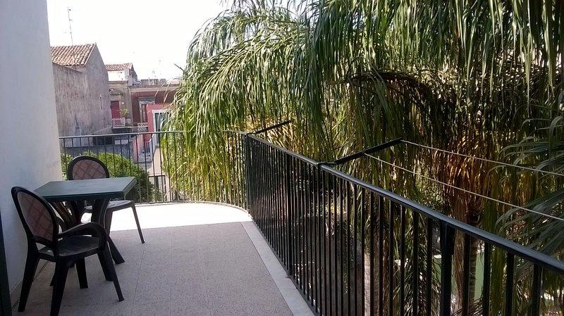 Balcone con vista Giardino