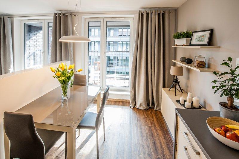 Cozy Apartment with AC, location de vacances à Cracovie