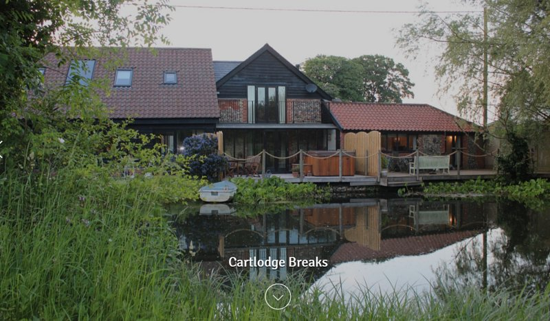 Cart Lodge Breaks, location de vacances à Bury St. Edmunds
