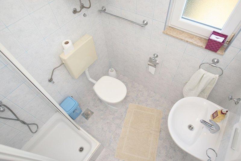 A3(3+1): bathroom with toilet