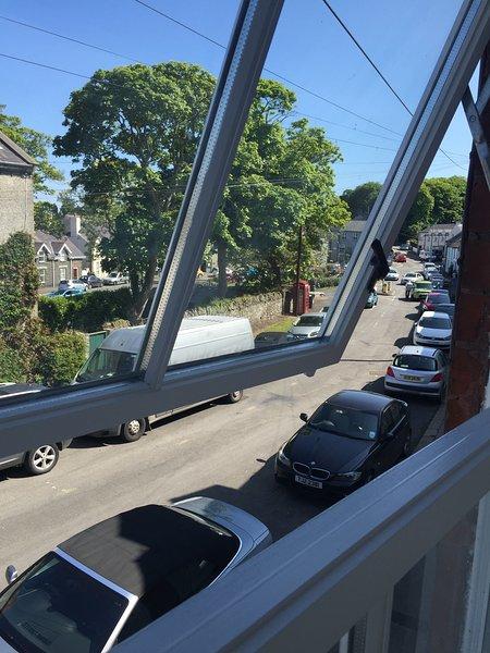 Utsikt från framsidan sovrummet