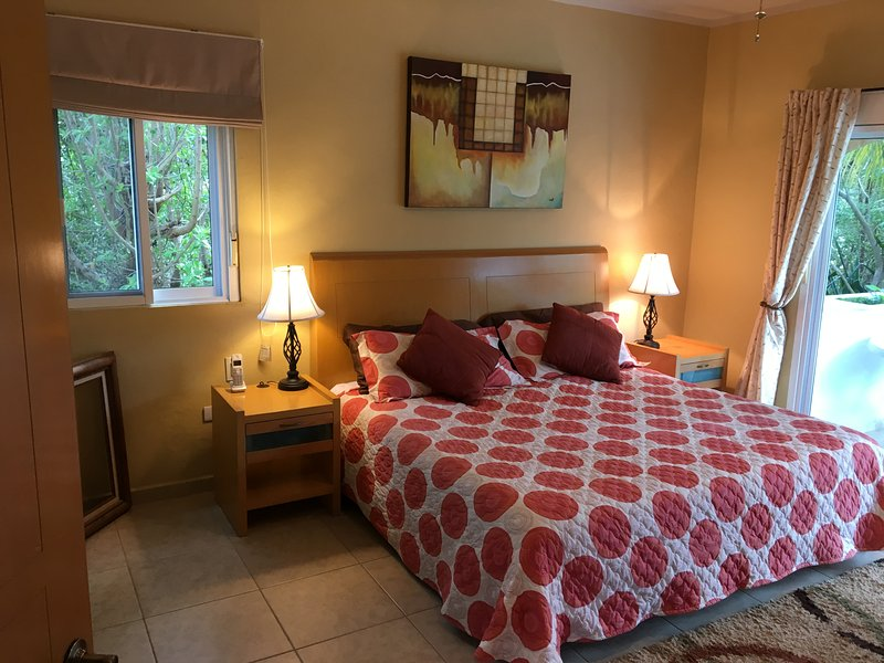 Large master suite with full bathroom